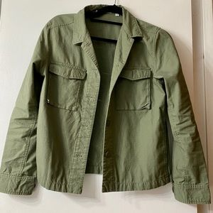 Uniqlo military style  button down jacket